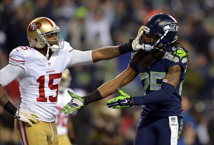 Michael Crabtree vs Richard Sherman