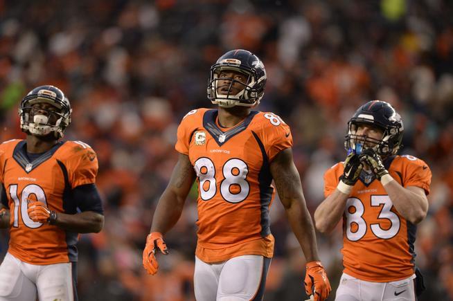 Denver Broncos receivers