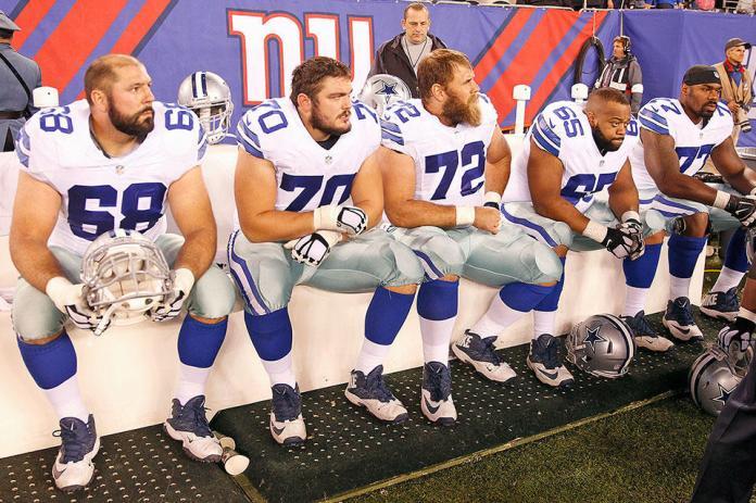 Cowboys O-line