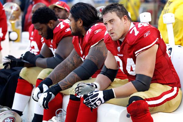 49ers O-line