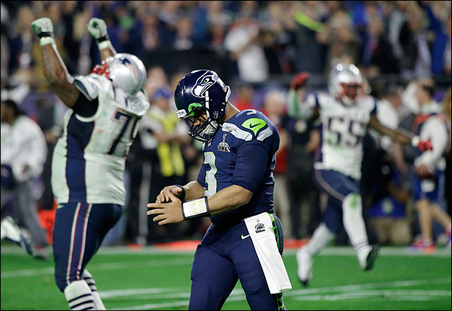 Russell Wilson loses SB