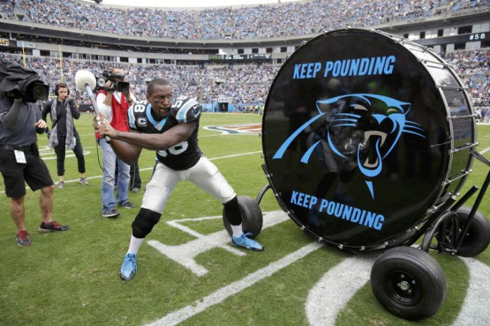 Panthers keep pounding