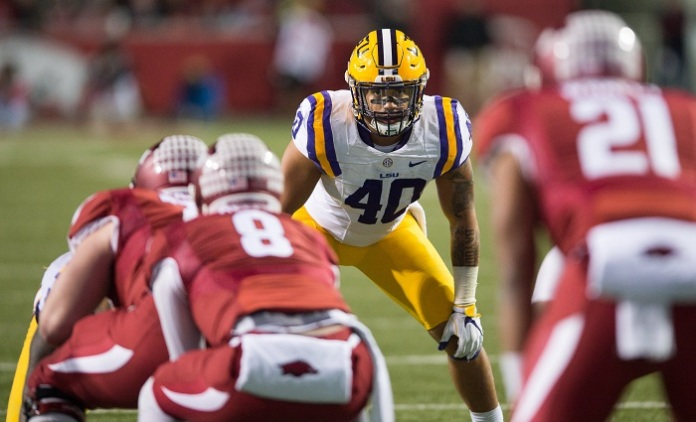 NCAA Football: Louisiana State at Arkansas