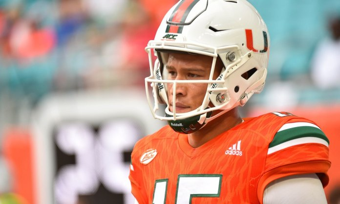 NCAA Football: North Carolina at Miami