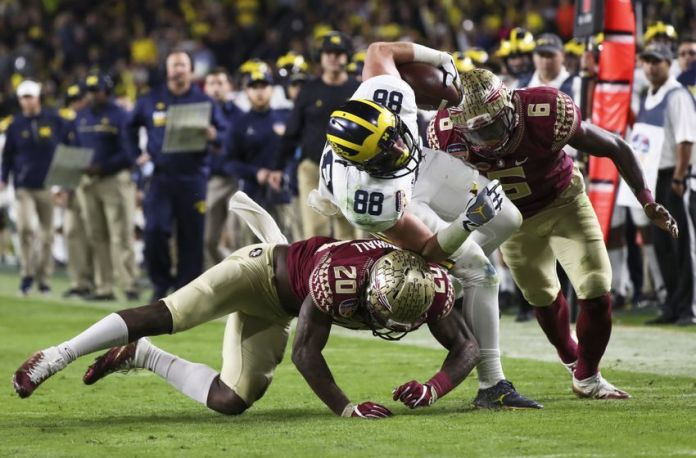 NCAA Football: Orange Bowl-Michigan vs Florida State