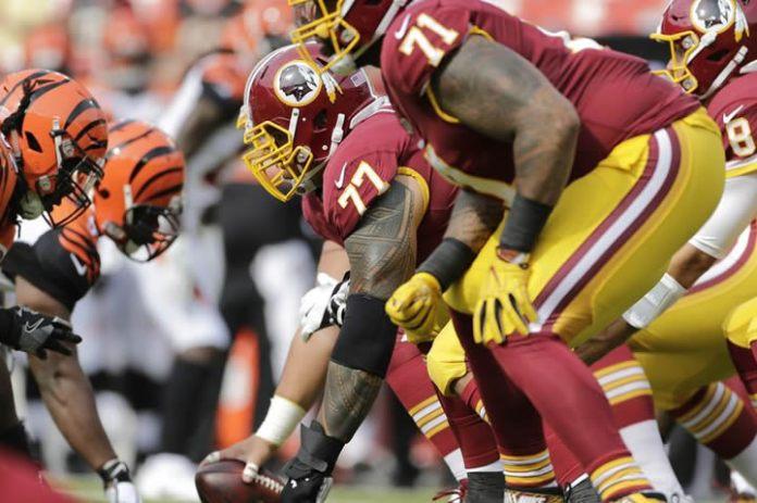Redskins O-Line