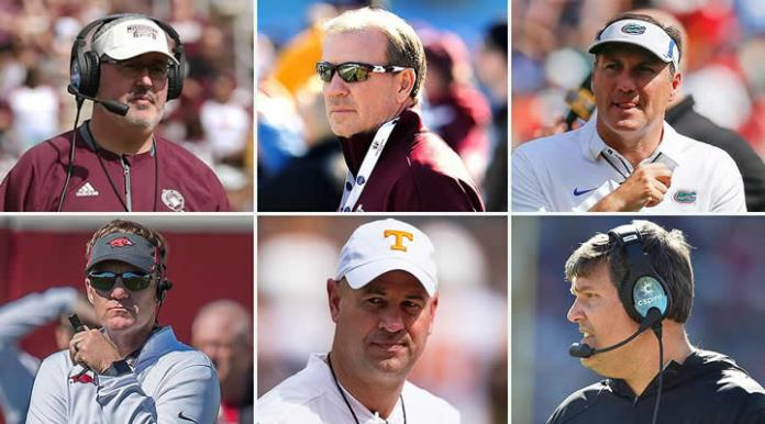 New SEC Coaches