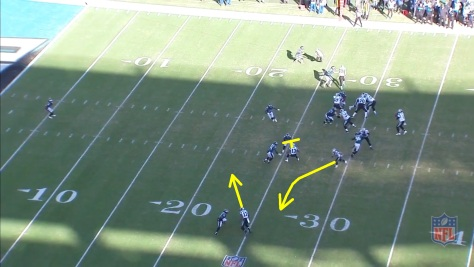 Eagles vs pick with RB swing