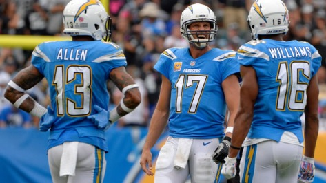 chargers receivers