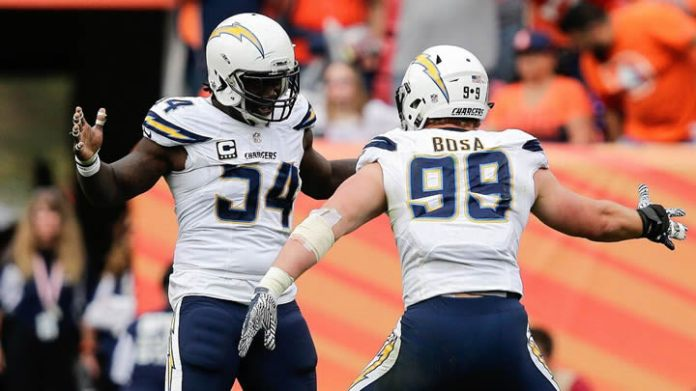 melvin ingram & joey bosa