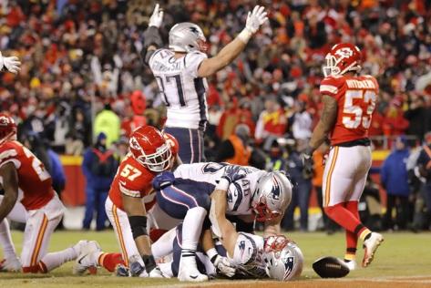 rex burkhead ot touchdown