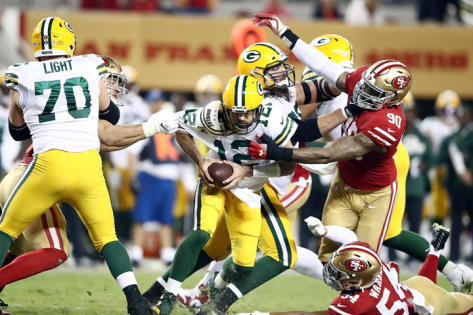 Packers @ 49ers