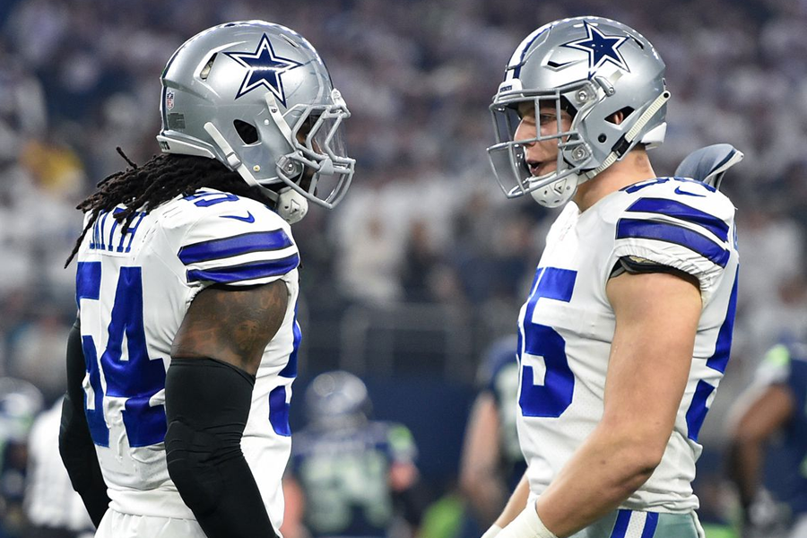 Jaylon Smith and Leighton Vander Esch